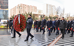 Был посещен Памятник «Ana harayı».