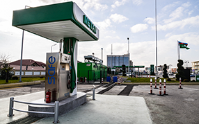 Нa автазаправочной станции «Babək» компании «Азпетрол» началась продажа «CNG»