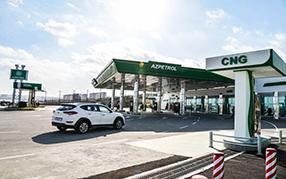 "На 4 заправках ""Azpetrol"" начались продажи CNG"