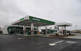 Компания «Азпетрол» открыла свою новую автозаправочную станцию в городе Шемаха